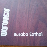 Photo taken at Busaba Eathai by Claire A. on 9/15/2012