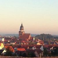 Photo taken at Kurzentrum Waren by moralpastille on 10/2/2013