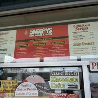 Photo taken at Snoopy's Hot Dogs & More by ray d. on 3/20/2013