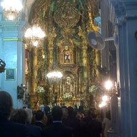 Photo taken at Parroquia de Ntra. Sra. del Carmen y Santa Teresa by Rafa S. on 4/27/2013