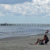 Photo taken at Pawleys Island Beach - 2nd Ave by Jim S. on 8/11/2013