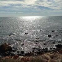 Photo taken at Playa de Mascarat Sur / La Barreta by Domingo R. on 2/8/2014