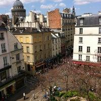 Photo taken at Place de la Contrescarpe by Roman S. on 5/7/2013