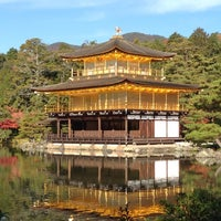 Photo taken at Kinkaku-ji Temple by Eisuke M. on 11/25/2012