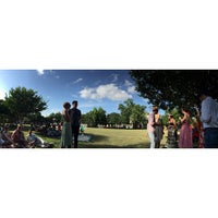 Photo taken at Cabrini Dog Park by DJ L. on 5/10/2015