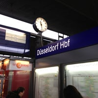 Photo taken at Düsseldorf Hauptbahnhof by Rex on 12/22/2012