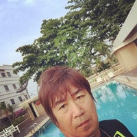 Photo taken at Grand Paradise Hotel by Hiromitsu F. on 3/29/2015