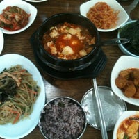 Photo taken at 향토 by Thomas Y. on 10/19/2012