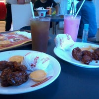 Photo taken at Richeese Factory by Citra P. on 8/25/2013