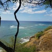 Photo taken at Diamond Head Scenic Point by Nina C. on 11/6/2016