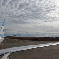 Photo taken at Aeropuerto Internacional de Río Grande - Gobernador Ramón Trejo Noel (RGA) by Nico D. on 1/8/2014