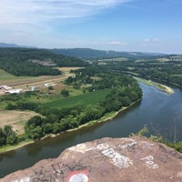 Photo taken at Wyalusing Scenic Overlook by Melissa H. on 7/22/2016