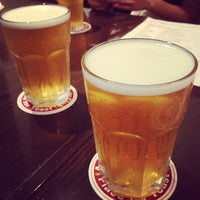 Photo taken at August Beer Club by Takamasa W. on 7/14/2013