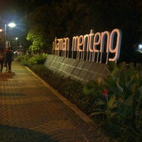 Photo taken at Taman Menteng by Ristanto R. on 2/2/2013
