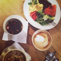 Photo taken at Le Pain Quotidien by Jemina P. on 1/20/2013