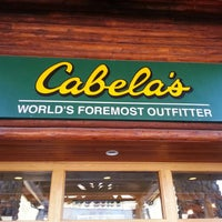 Photo taken at Cabela's by Troy M. on 4/20/2013