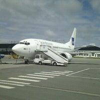 Photo taken at Stavanger Airport Sola (SVG) by JJ T. on 11/21/2012