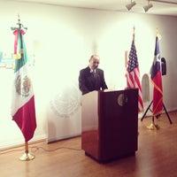 Photo taken at Consulado De Mexico by Ramir C. on 9/17/2013