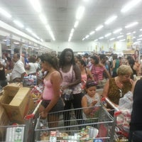 Photo taken at Supermercados Guanabara by Wanderson O. on 10/22/2012