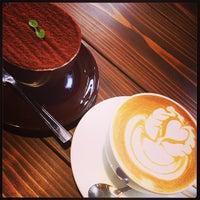 Photo taken at POSSE COFFEE by Riki on 1/3/2014
