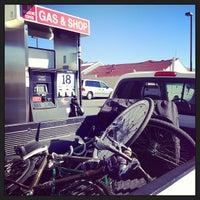 Photo taken at Gas & Shop by Riki on 9/23/2013