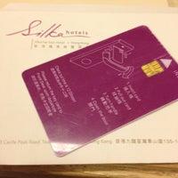 Photo taken at Silka Far East Hotel 遠東絲麗酒店 by Cari A. on 2/22/2013