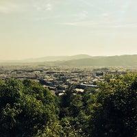Photo taken at 一の丘山頂 by Klaudios P. on 6/1/2014