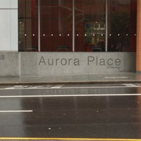 Photo taken at Aurora Place by Klaudios P. on 1/28/2013