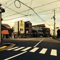 Photo taken at 新町通武者小路トライアングル by Klaudios P. on 9/15/2014