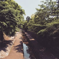Photo taken at 堀川 by Klaudios P. on 5/13/2015