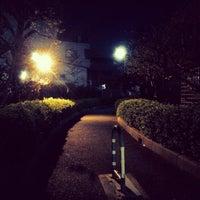 Photo taken at 堀川 跡 by Klaudios P. on 4/11/2014