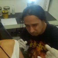 Photo taken at Estúdio Legion Tattoo by Júlia A. on 7/18/2015