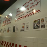 Photo taken at Five Guys by Jeff E. on 1/1/2013