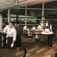 Photo taken at Plaza Premium Lounge (West Hall) by Stratis V. on 7/29/2017