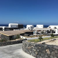 Photo taken at Santo Maris Oia Luxury Suites and Spa in Santorini by Stratis V. on 9/2/2016