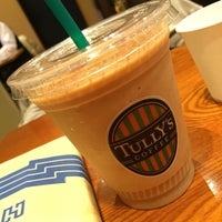 Photo taken at Tully's Coffee by Jun H. on 4/5/2016