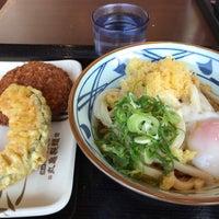 Photo taken at Marugame Seimen by Jun H. on 2/28/2018