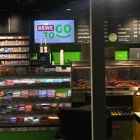 Photo taken at REWE to GO by bianca o. on 4/27/2017