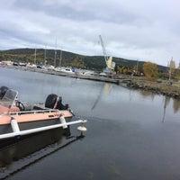 Photo taken at Näske Båthamn by Maj-Britt B. on 10/4/2017