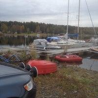 Photo taken at Näske Båthamn by Maj-Britt B. on 9/22/2016
