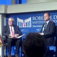 Photo taken at Robert J Dole Institute of Politics by julia p. on 9/21/2012