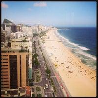 Photo taken at Marina Palace Rio Leblon by Yuri R. on 2/1/2013