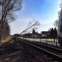 Photo taken at Bahnhof Horka by T N. on 3/30/2014