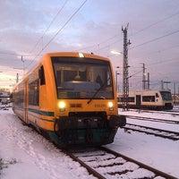 Photo taken at Bahnhof Offenburg by T N. on 1/3/2015