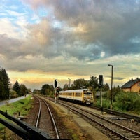 Photo taken at Bahnhof Horka by T N. on 10/10/2012