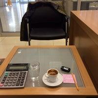 Photo taken at İş Bankası by Onur U. on 2/5/2014