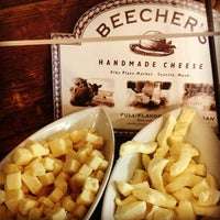 Photo taken at Beecher's Handmade Cheese by Jenn P. on 1/12/2013