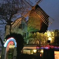 Photo taken at Le Moulin de la Galette by АсЯ:) on 1/12/2013