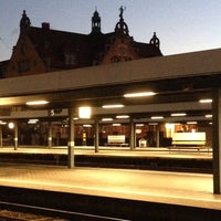 Photo taken at Lindau Central Station by Christian S. on 10/17/2013
