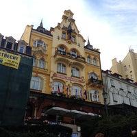 Photo taken at Hotel Romance Puškin by Тамара Д. on 9/17/2012